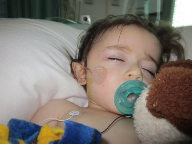 May 10, 2010 recovering from brain surgery